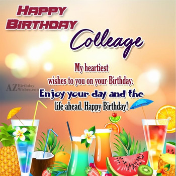 Happy birthday quotes for office colleagues new best coll...