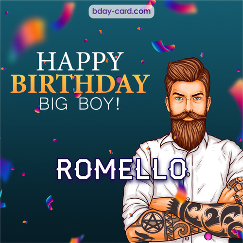BDay big boy Romello - Happy Birthday