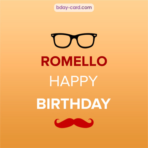 Happy Birthday photos for Romello with antennae