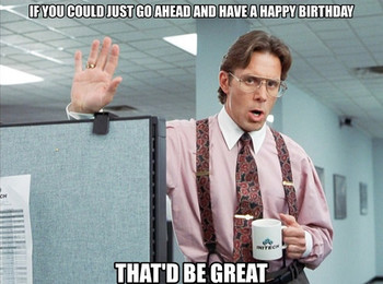 Office space birthday