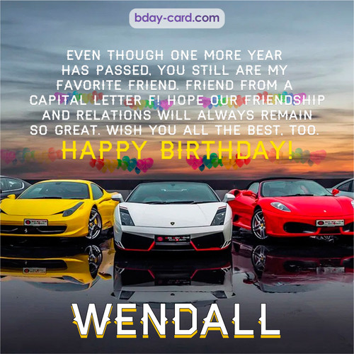 Birthday pics for Wendall with Sports cars