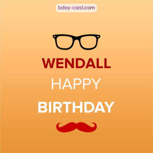Happy Birthday photos for Wendall with antennae