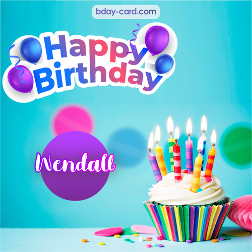Birthday photos for Wendall with Cupcake