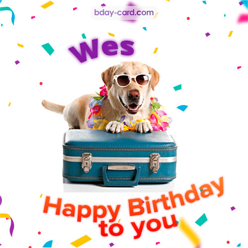 Funny Birthday pictures for Wes