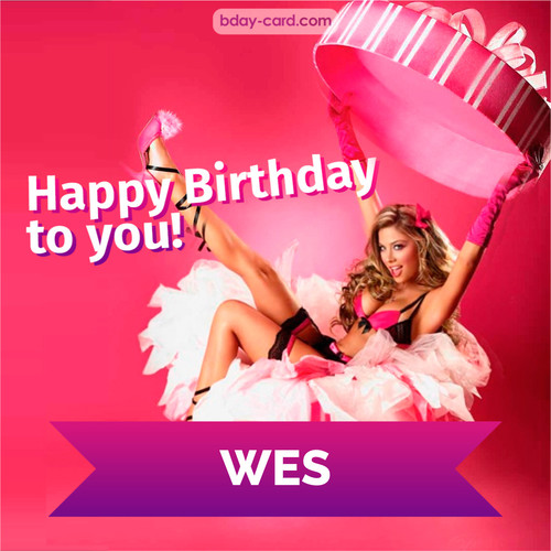Birthday images for Wes with lady