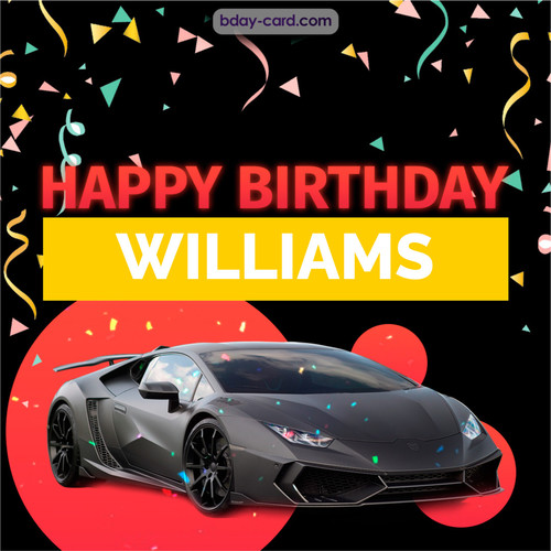 Bday pictures for Williams with Lamborghini