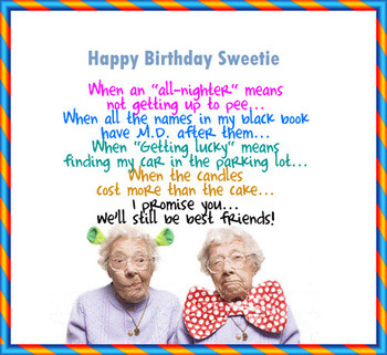 Funny letter to my best friend on her birthday happy birt