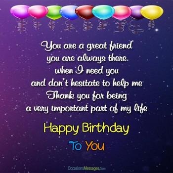 Happy Birthday Dear Friend Free For Best Friends Ecards G