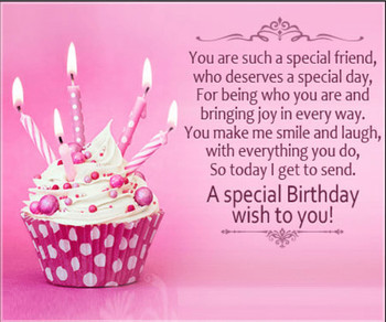 Happy birthday quotes and wishes for a friend with pictures