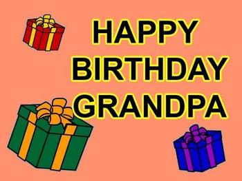 Happy Birthday Grandpa Cards Youtube