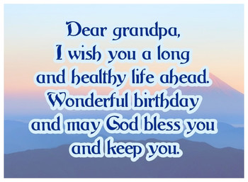 Happy Birthday Grandpa Ecards For Your Grandfather