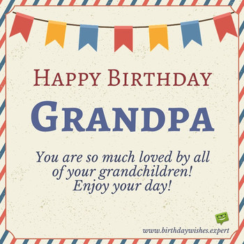 HAPPY BIRTHDAY GRANDPA ECARDS FOR GRANDFATHER FR