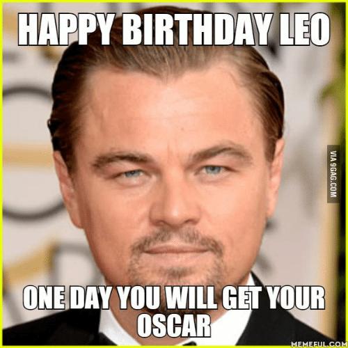 25 Best Memes About Leonardo Dicaprio Happy Birthday Happy