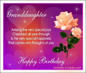 Free images birthday for grandughter free online family b...