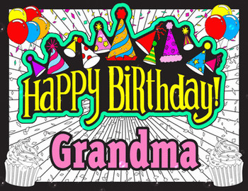 Collection of happy birthday grandma clipart high quality