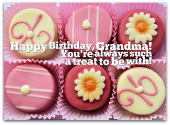 Grandma birthday wishes page