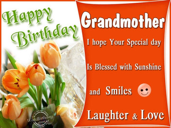 Happy birthday quotes for grandma happy birthday images