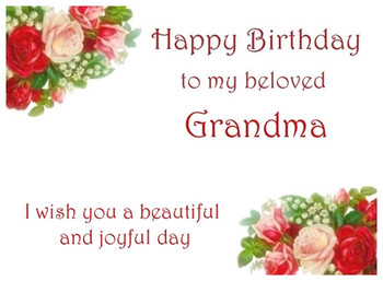 Happy birthday grandma birthday ecards for your grandmother