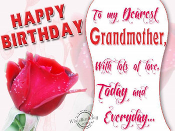 Happy birthday poems for grandmothers happy birthday gran...