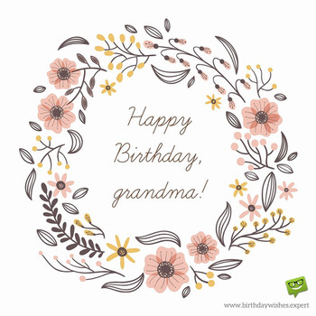 Grandmother quotes birthday beautiful happy birthday gran...