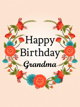 Birthday cards for grandmother birthday amp greeting card...
