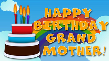 Happy birthday grandmother youtube