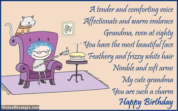 Happy Birthday Grandma Ecards For Your Grandmother