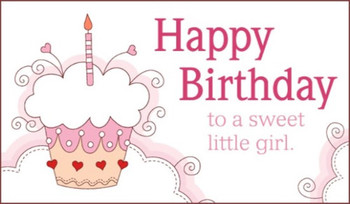 Free sweet girl ecard email free personalized birthday ca...