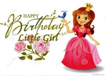 Birthday Girl Rachel Ellen Happy Kid