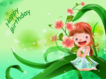 Happy birthday wishes card images with cakes candles pict...