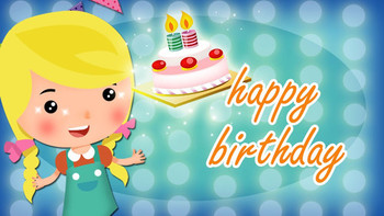 Happy birthday song for children cute amp funny friends b...