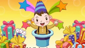 Happy birthday to you  kids songs and children nursery