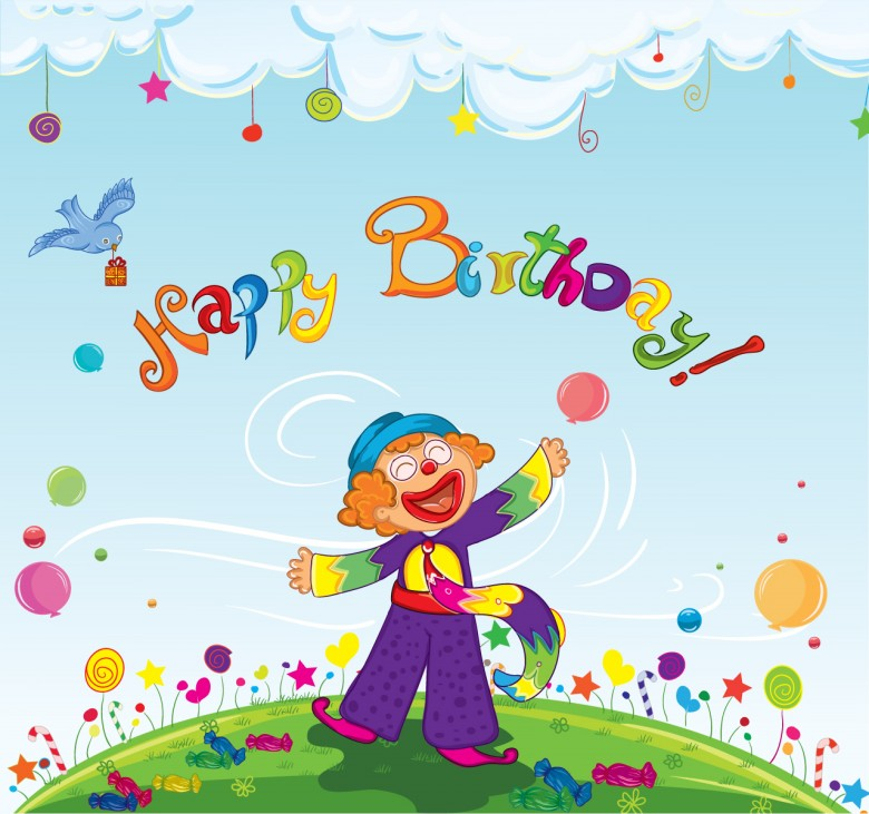 Happy Birthday Images For Kids With Quotes