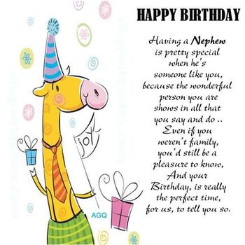Funny Birthday Cards For Nephew Fresh Happy Neph