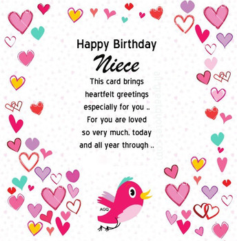 Happy birthday wishes for niece – quotes images