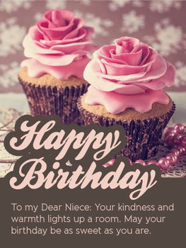Happy birthday niece quotes and wishes with images
