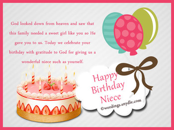 Happy birthday wishes for niece niece birthday messages