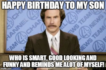 I Dont Always Wish My Son In Law A Happy Birthday But Whe Happy