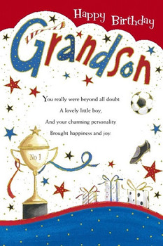 Grandson Birthday Wishes Greeting Cards Son Gree