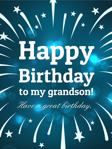 Happy Birthday Grandson Images Free Happy Bday Pictures And Photos Bday Card Com