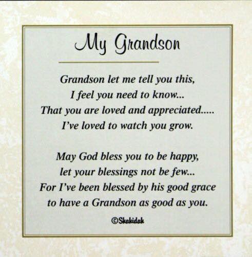 Grandson Quotes Inspirational Quotes Quotes Brainjobs Us Happy