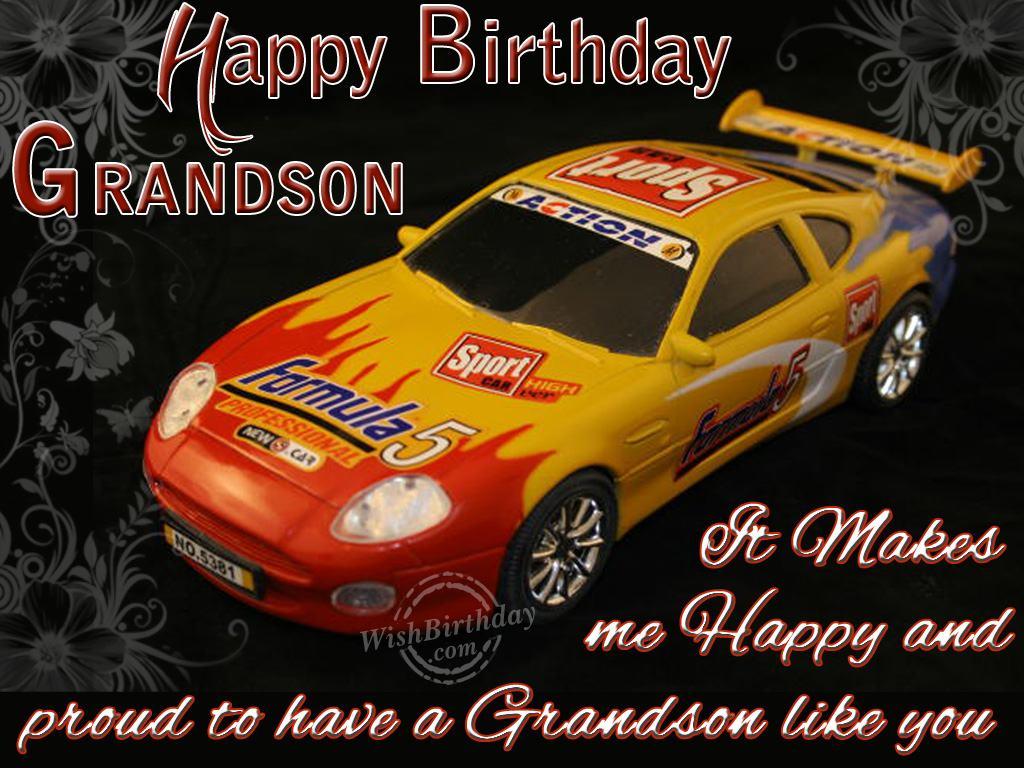 Happy Birthday Grandson Images