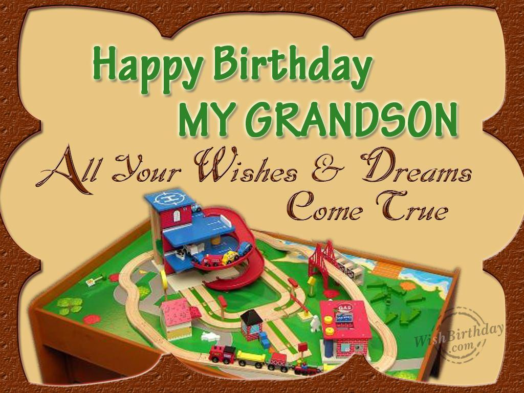 Birthday For Grandson Happy Wishes