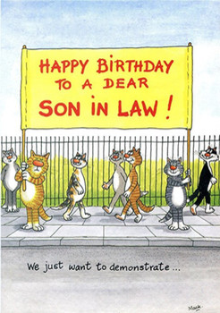 Birthday Card Happy Cards For Son In Law Quotes