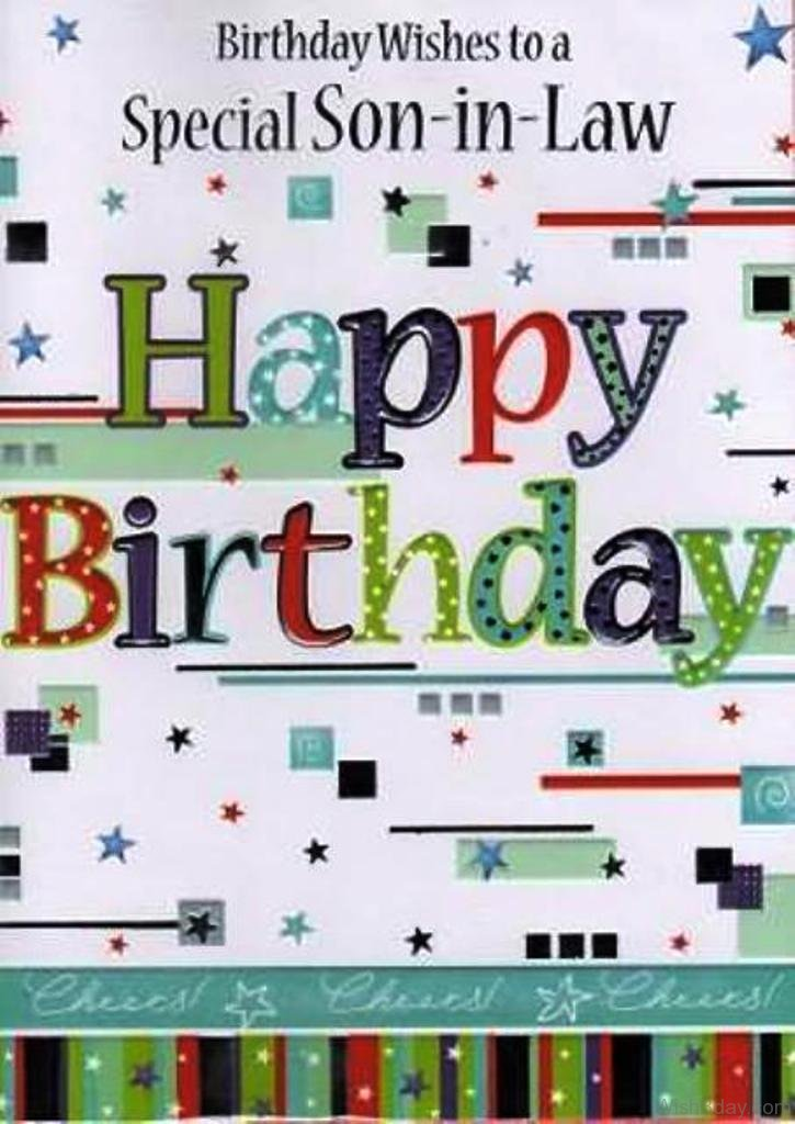 Happy Birthday Son In Law Images Free Bday Cards And Pictures