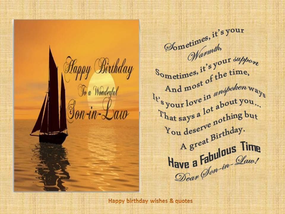 Card Invitation Design Ideas Birthday Cards For Son In La