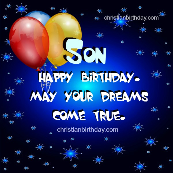 Happy Birthday Images For Son With Quotes