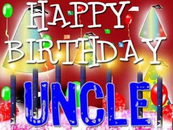 Birthday congratulations for a uncle youtube