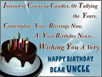 Happy birthday uncle wishes images and messages uncle bir...