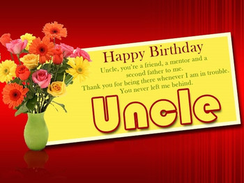 Happy birthday uncle wishes birthday messages greetings a...